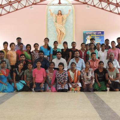 Catholic & Hindu Youth Group Mannar in April 2016-2019