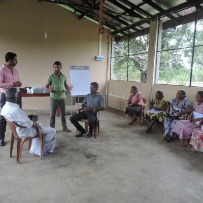 Poomalanthan village in Madu. One day orientation to NVC on 5 October 2015-2019