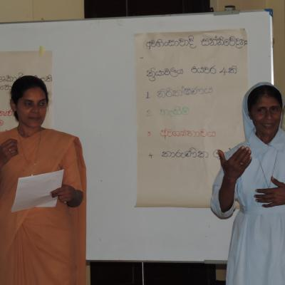 Centre for Society _ Religion, Intermediate Training on NVC, in August 2015