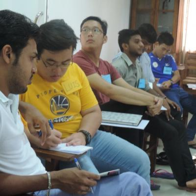 De La Salle Brothers_  NVC training in June 2016