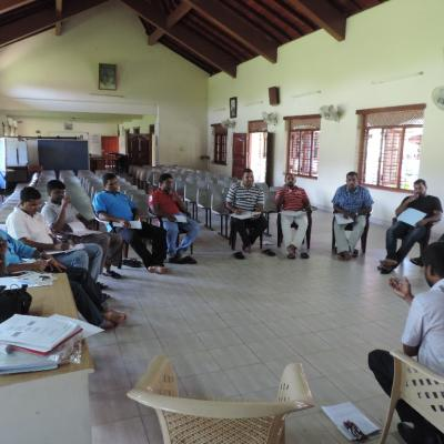 Claretian Fathers, Training on NVC  on 24 & 25 November 2015-2019