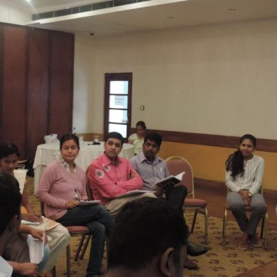 NVC based Conflict Transformation for FORUT's South Asian Civil Society delegates on 11 April 2015-2019
